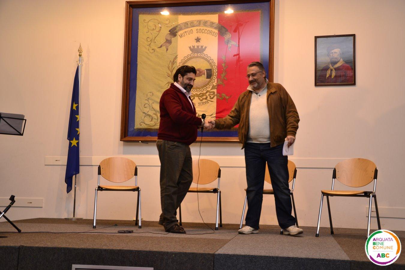 Diego Sabbi e Frabrizio Gallo